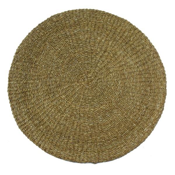 Round Floor Rug Floor Carpet Indoor Mat Sea Grass 150x1cm