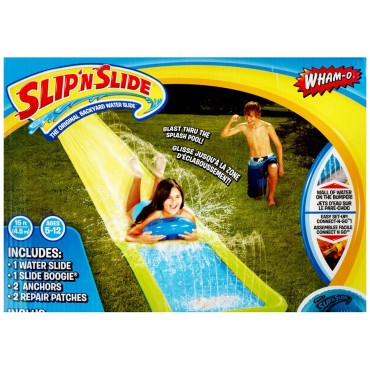 Wham-O Single Slip N Slide Outdoor Garden Kids Fun Water Plastic 450x4cm