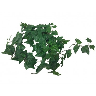 Faux Ivy Spray Plant Tree Artificial Fake Floral Metal Green 14x10cm
