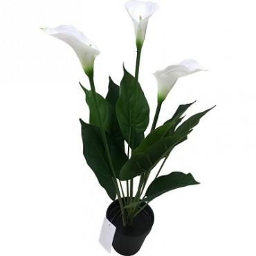 POTTED FAUX CALLA LILY PLANT 60CM