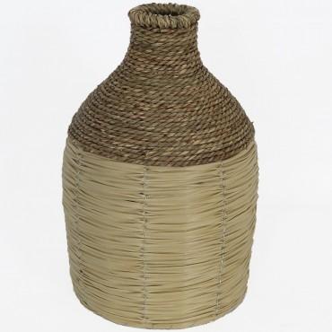 High St Avante Bottle Shape Vase Flower Holder Planter Pot 35x21cm
