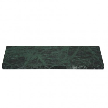 Small Marble Serving Chopping Board Cutting Kitchen Heavy Duty Green 30x2cm