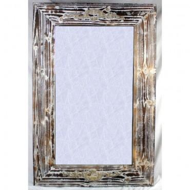 Large Rectangle Door Wall Mirror Hanging Art Bathroom Timber Rustic 56X180Cm
