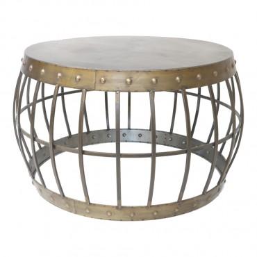 Elementals Industrial Coffee Table Lamp Nightstand 68x40cm