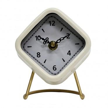 Antique Deco Era Table Clock Hanging Art Decor 10x14cm