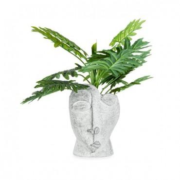 Pablo Fractured Artefact Planter Garden Pot Flower Plant Holder Grey 25x36cm