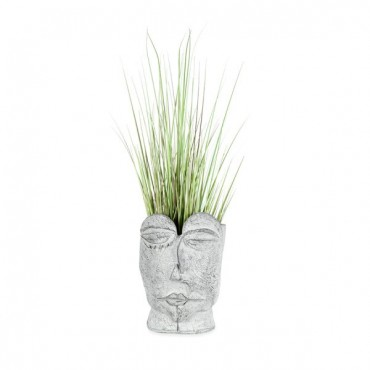 Pablo Artefact Planter Garden Pot Flower Plant Holder Grey 26x35cm