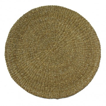 Round Floor Rug Floor Carpet Indoor Mat Sea Grass 150x1cm