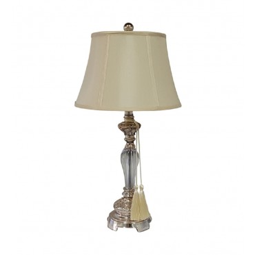 Felicienne Bedside Lamp W Shade Bedside Reading Light Champagne 33x66cm