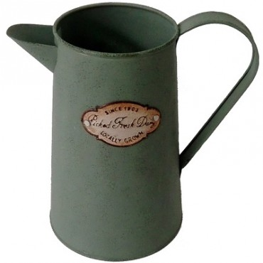 WATER JUG ANTIQUE GREEN