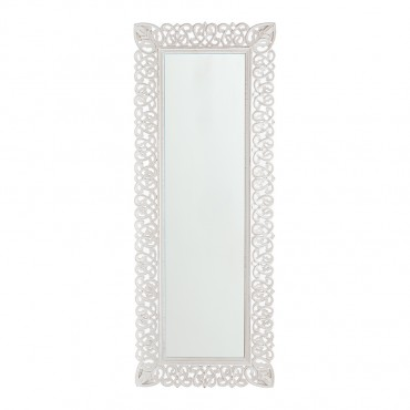 Large Scroll Vertical Horizontal Wall Mirror Hanging Bathroom Living 58x149cm