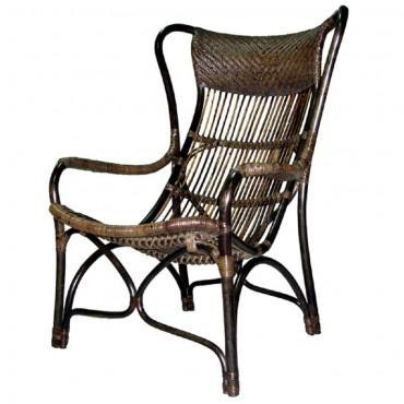 Bahamas Chair Seat Sofa Lounge Tub Rattan Natural 66x102cm