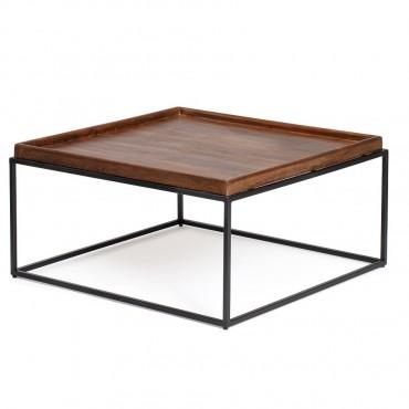 Lino Square Coffee Table Lamp Nightstand 80x40cm