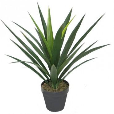 FAUX YUCCA PLANT IN POT 60CM