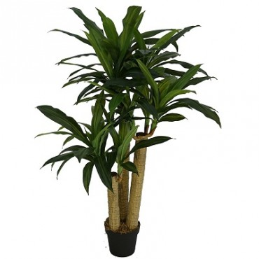 POTTED FAUX DRACAENA PLANT