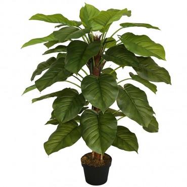 Potted Faux Pothos Plant Tree Artificial Fake Floral 45x130cm