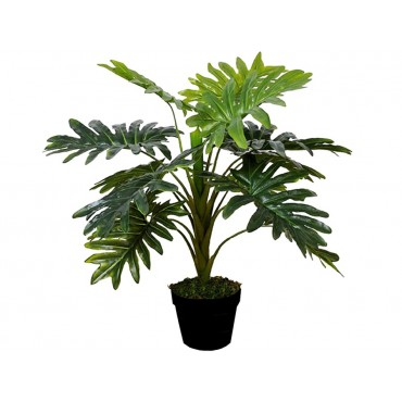 Potted Faux Monstera Plant Tree Artificial Fake Floral 30x70cm