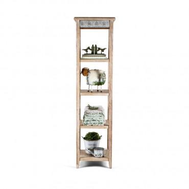 Chateau 5 Shelf Unit Shelves Rack Stand Bookshelf 48x180cm
