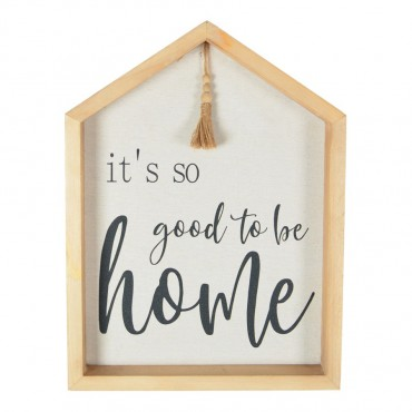 Good To Be Home Framed Wall Art Hanging Screen Sign 30x40cm