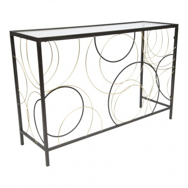 Cirque Lustre Console Table Hallway Hall Unit 120x80cm