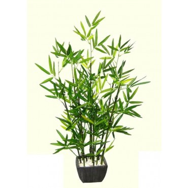 Faux Bamboo Plant In Terracotta Pot Tree Fake Floral Artificial Green 30x76cm