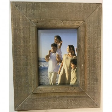 Single Photo Frame Picture Wall Art Hanger Decor Wood Natural 29X34Cm