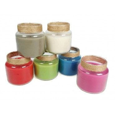 bulk 24 Scented Candle In Jar Assorted Wedding Wax Glass 8x9cm