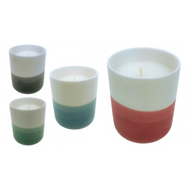 bulk 8 Ceramic Scented Candle 4 Assort 500G Wedding Party Wax