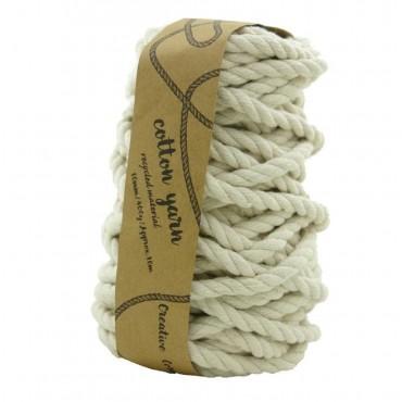 bulk 12 Macrame Cotton Yarn 16M 400G Knitting Super Soft Fibre 1600x1cm