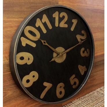 Large Round Luxor Clock Hanging Art Display Home Decor 75cm