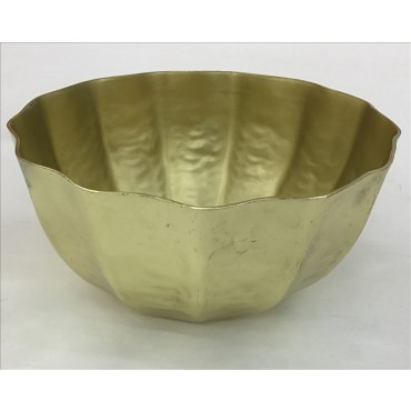 Bulk 2 Venus Bowl Decorative Food Platter Holder Metal Gold 23x10cm