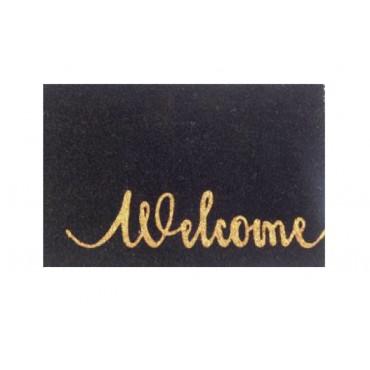 Welcome Doormat Door Mat Outdoor Entrance Front Rug 60x2cm
