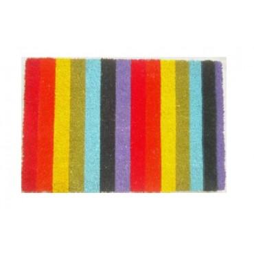 Rainbow Doormat Door Mat Outdoor Entrance Front Rug 60x2cm