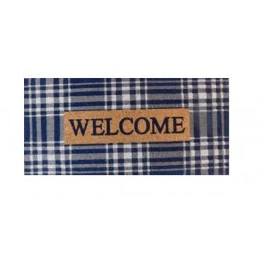 Large Welcome Doormat Door Mat Outdoor Entrance Front Rug 90x3cm