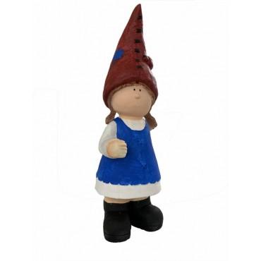 Gretta Gnome Ornament Figurine Sculpture Poly Resin 21x60cm