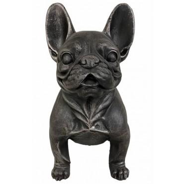 Danny French Bulldog Dog Statue Ornament Figurine Sculpture 37x43cm