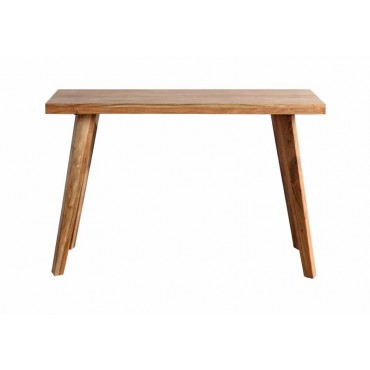 Abby Console Table Hallway Hall Unit Entry Side Acacia Wood Natural 118x78cm