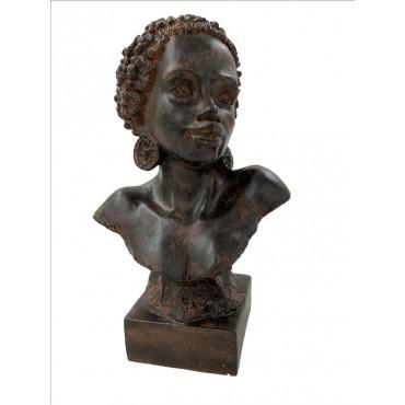 Susan Bust Ornament Figurine Sculpture Poly Resin 25x40cm