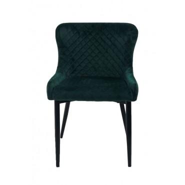 Bulk 2 Spark Fabric Chair Seat Sofa Lounge Tub Provincial Metal Green 60x81cm
