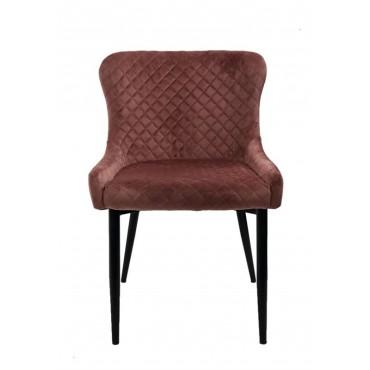 Bulk 2 Spark Fabric Chair Seat Sofa Lounge Tub Provincial Pink Velvet 60x81cm