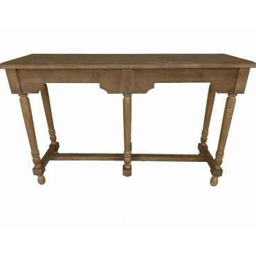 Iowa Console Table Hallway Hall Unit Entry Side Timber Natural 120x77cm