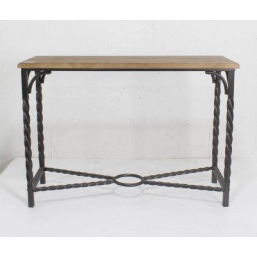 Kensignton Console Table Hallway Hall Unit Entry Side Natural 121x85cm