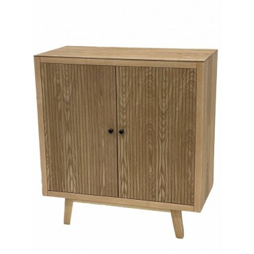 Kay Sideboard Cabinet Buffet Storage Cupboard Timber Natural 80x86cm