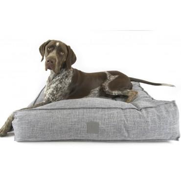 Floor Cushion Ash Grey Size 2 Dog Cat Puppy Cushion Mattress Mat 115x26cm
