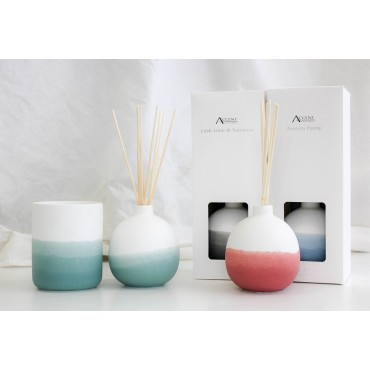 bulk 8 Ceramic Colour Shade Diffuser 4 Assort 180Ml Aromatherapy Fragrance Aroma
