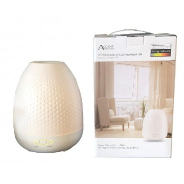 bulk 4 380Ml Humidifier White With Color Changing Led Aromatherapy Fragrance