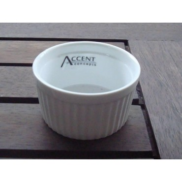 bulk 24 Porcelain Bowl Soup Serving Rice Dinner White 13x7cm