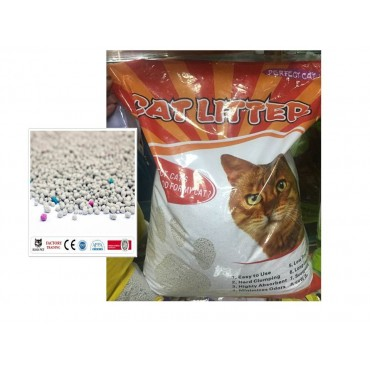 bulk 2 Natural Clay Clumping Cat Dog Kitten pet Litter 10L 7Kg