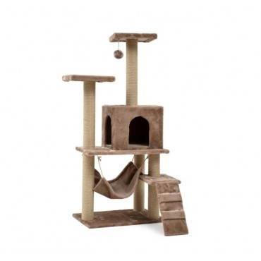 Cat Tree Scratching Post Scratching Post Sisal Pole Condo Toy 60x140cm