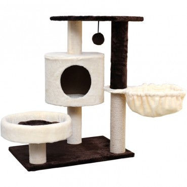 Cat Tree Scratching Post Scratching Post Sisal Pole Condo Toy 60x75cm